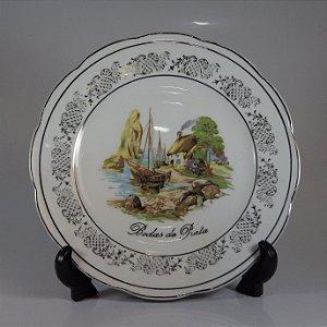 Prato em Porcelana Steatita Bodas de Prata