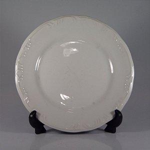 Prato em Porcelana Schmidt Branco