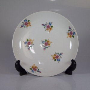 Prato em Porcelana SRS Decorado em Flores