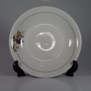 Prato em Porcelana Renner Decorado Floral