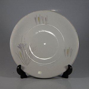 Prato em Porcelana Renner Decorado