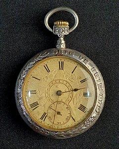 Relógio De Bolso Comemorativo 100 Anos Do Dia Do Fico 1922