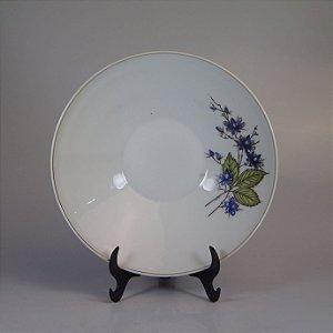 Saladeira em Porcelana Schmidt Decorada em Floral