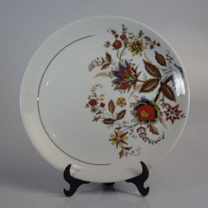 Prato em Porcelana Steatita Floral