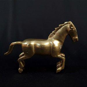 Escultura Estatua Em Cavalo Em Bronze