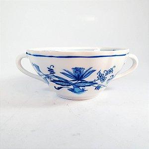 Camofler em Porcelana Bavaria Germany Decorado em Flores