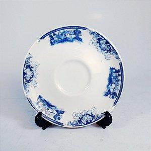 Pires em Porcelana Decorado Azul