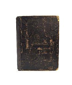 Bíblia Famiglie Alemã Folha De Ouro Ano 1889