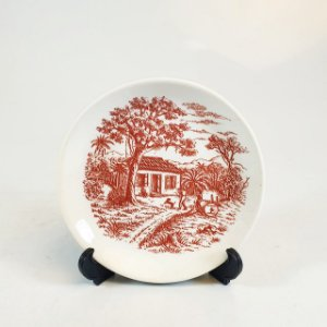 Prato Decorativo em Porcelana Schmidt Pintado a Mão