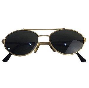 Óculos De Sol Em Latão Vintage