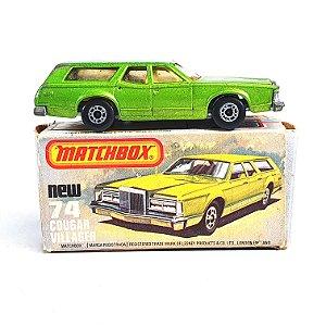 Matchbox Superfast Cougar Villager N 74