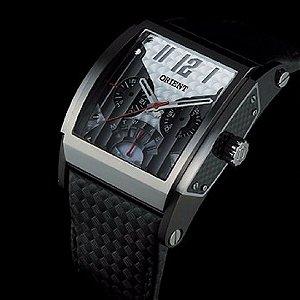 Relógio De Pulso Orient Pulseira Couro GTSCM0001
