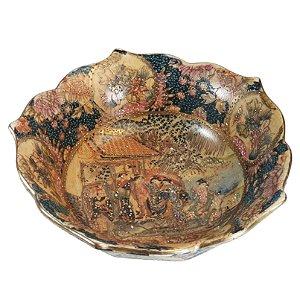 Bowl em Porcelana Chinesa Pintado a Mão