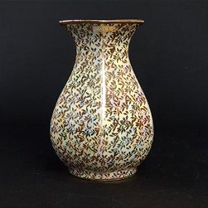 Vaso Decorativo em Porcelana Schmidt Nacarado