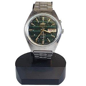 Relógio de Pulso Orient Crystal Verde