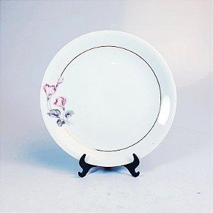 Prato de Sobremesa em Porcelana Renner Floral
