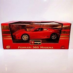Miniatura Ferrari 360 Modena Burago 1999