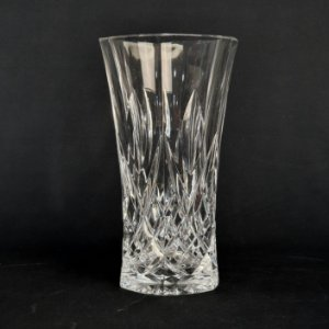 Vaso Em Cristal Bohemia 18cm