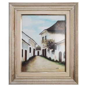 Quadro Pintura Casas Bahia - Milena '00 36x45cm
