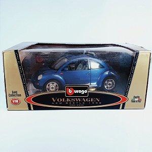 Miniatura Volkswagen New Beetle (1998) Bburago Gold