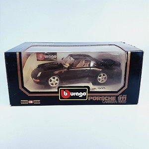 Miniatura Porsche 911 Carrera (1993) Bburago Diamonds