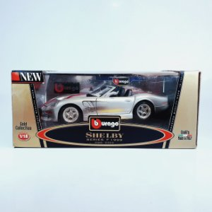 Miniatura Shelby Series 1 Burago 1999 Diamonds