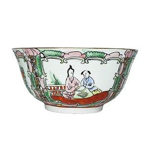 Bowl em Porcelana Filetado Ouro 5cm
