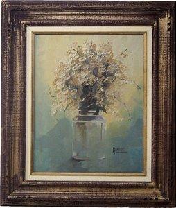 Quadro Pintura a Óleo flores - Ramiro