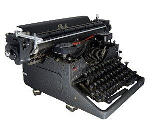 Máquina de Escrever Suiça Ruf