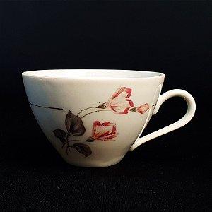 Xícara De Chá em Porcelana Renner Floral
