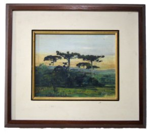 Quadro Pintura a Óleo - R. Hammes 88 37x42cm