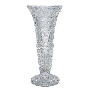Vaso Solitário em Cristal Decorativo Para Flor