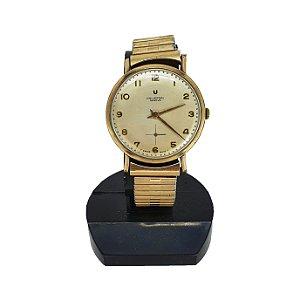 Relógio De Pulso Universal Genève Swiss Made Plaque de Ouro