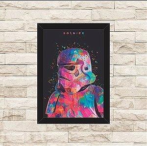 Quadro Decorativo Soldier Star Wars