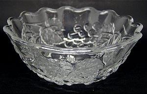 Fruteira Centro de Mesa em Vidro Uvas