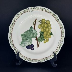 Prato de Decorativo Porcelana Noritake Royal Orchard