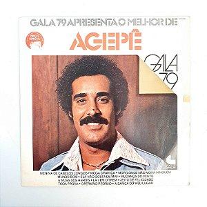 Disco de Vinil - O Melhor de Agepê - Gala 79