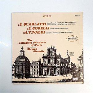 Disco de Vinil - A Scarlatti  The Collegium Musicum Of Paris