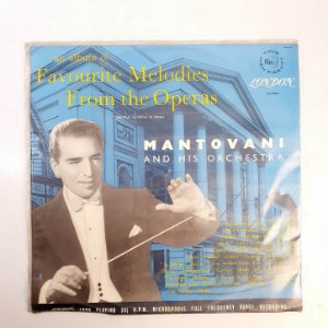 Disco de Vinil - Mantovani And His Orchestra