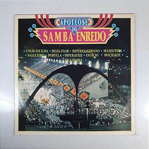 Disco de Vinil - Apoteose do Samba Enredo - 1990