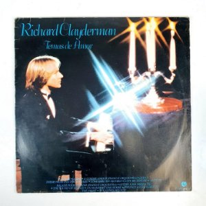 Disco de Vinil - Richard Clayderman - Temas de Amor
