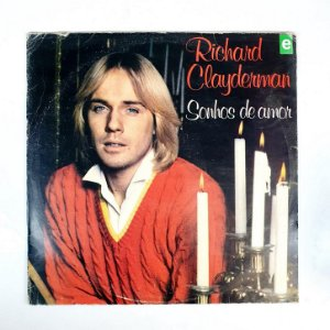 Disco de Vinil - Richard Clayderman - Sonhos de Amor