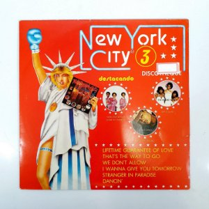 Disco de Vinil - New York City 3 - 1977