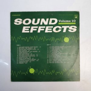 Disco de Vinil - Sound Effects - Volume 10