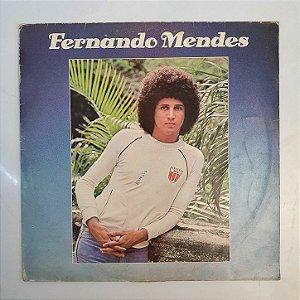 Disco de Vinil - Fernando Mendes - 1978