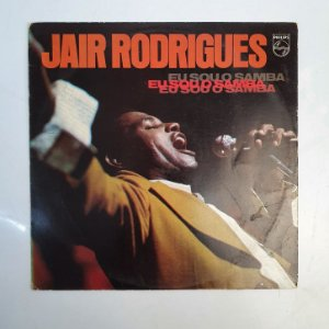 Disco de Vinil - Jair Rodrigues - Eu Sou o Samba
