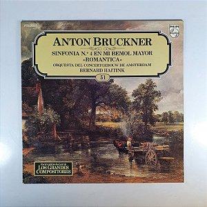 Disco de Vinil - ANTON BRUCKNER : Sinfonia nº4