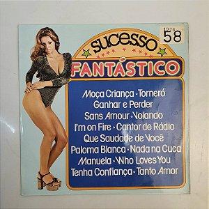 Disco de Vinil - Sucesso Fantastico - 1976