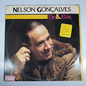 Disco de Vinil - Nelson Gonçalves - Eles & Elas - 1984