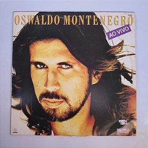 Disco de Vinil - Oswaldo Monteiro - Ao Vivo - 1989